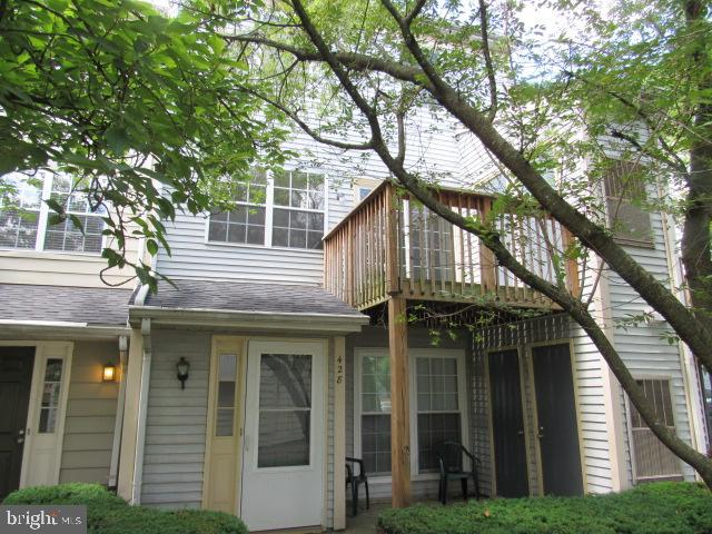 Subject Rear Deck - 436 TERRY CT #B2, FREDERICK