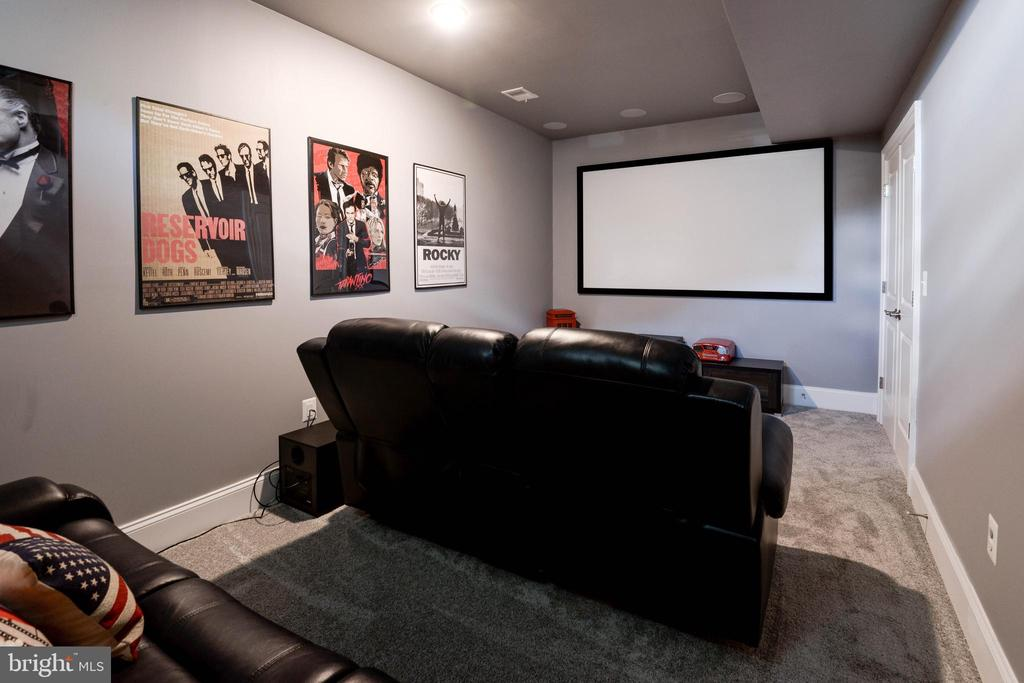 Media Room - 1057 MARMION DR, HERNDON
