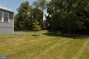 Side View of Yard - 1057 MARMION DR, HERNDON