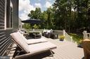 Trex Deck recently added - 1057 MARMION DR, HERNDON