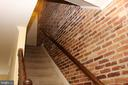 Brick wall to second floor - 21026 GLADSTONE DR, STERLING