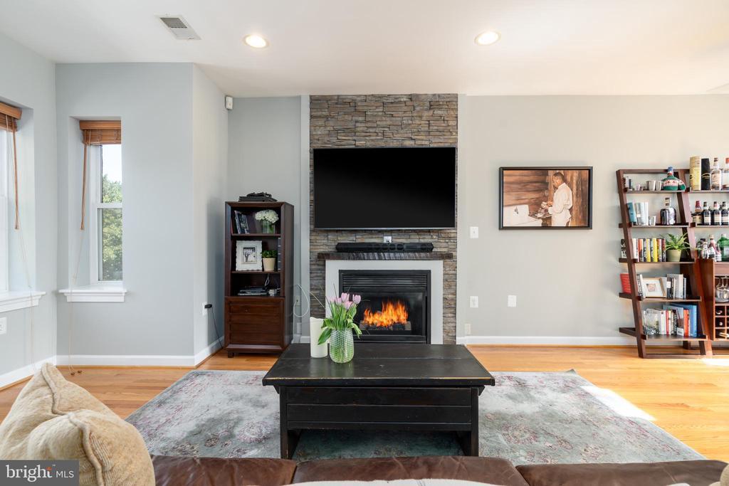 Gas Fireplace - 600 KENTUCKY AVE SE #B, WASHINGTON