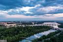 DC & Potomac River at twilight from the rooftop - 1111 19TH ST N #2606, ARLINGTON