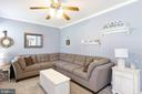 Ceiling fan in family room - 6059 DOUGLAS AVE, NEW MARKET