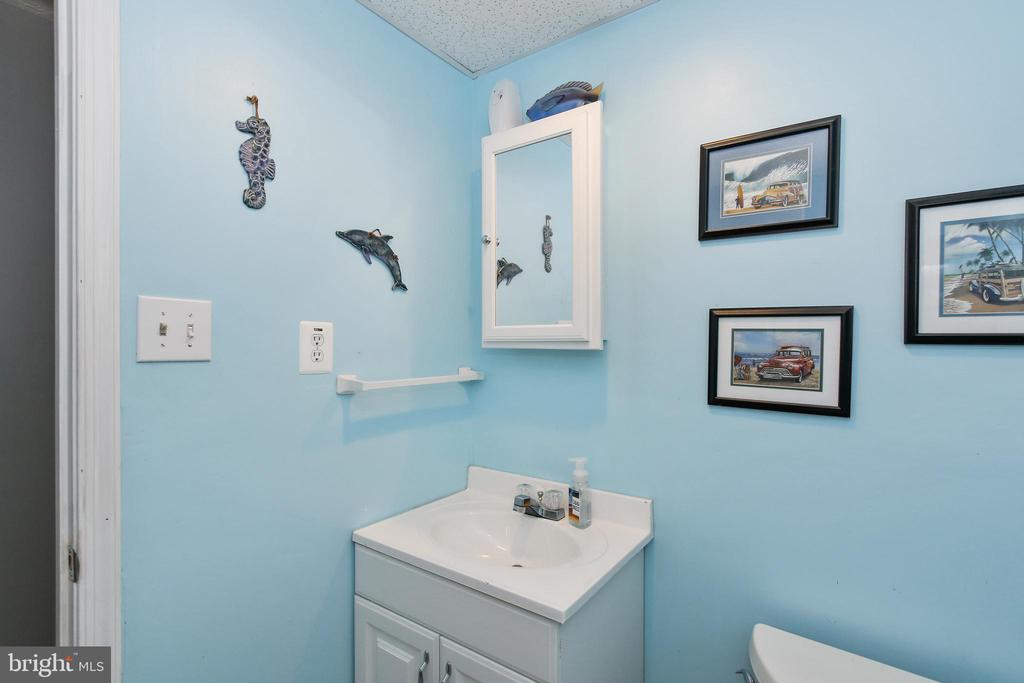 Half bath in the lower level - 6059 DOUGLAS AVE, NEW MARKET