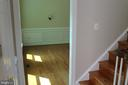 1st Entrance into the Formal Dining Room - 4800 N HILL DR, FAIRFAX