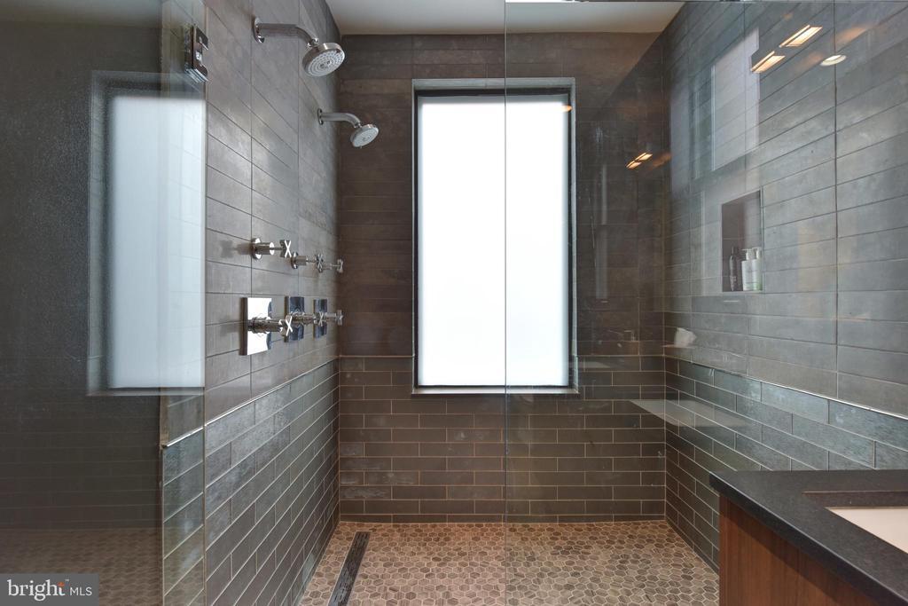 Owner's Bathroom with Tripled Head Shower - 1744 WILLARD ST NW, WASHINGTON