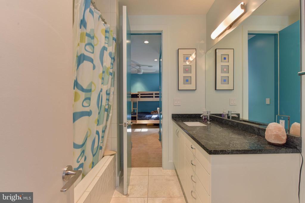 Full Bathroom with tub/shower - 1744 WILLARD ST NW, WASHINGTON