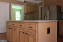 Kitchen Island /Cabinets on Both Sides - 4800 N HILL DR, FAIRFAX
