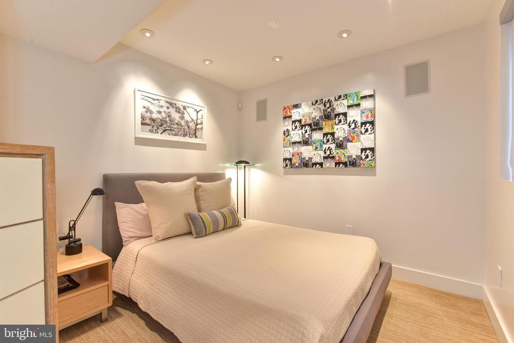 Lower Level Bedroom 4 - 1744 WILLARD ST NW, WASHINGTON