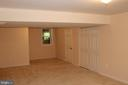 3rd Bedroom in the Basement - 4800 N HILL DR, FAIRFAX