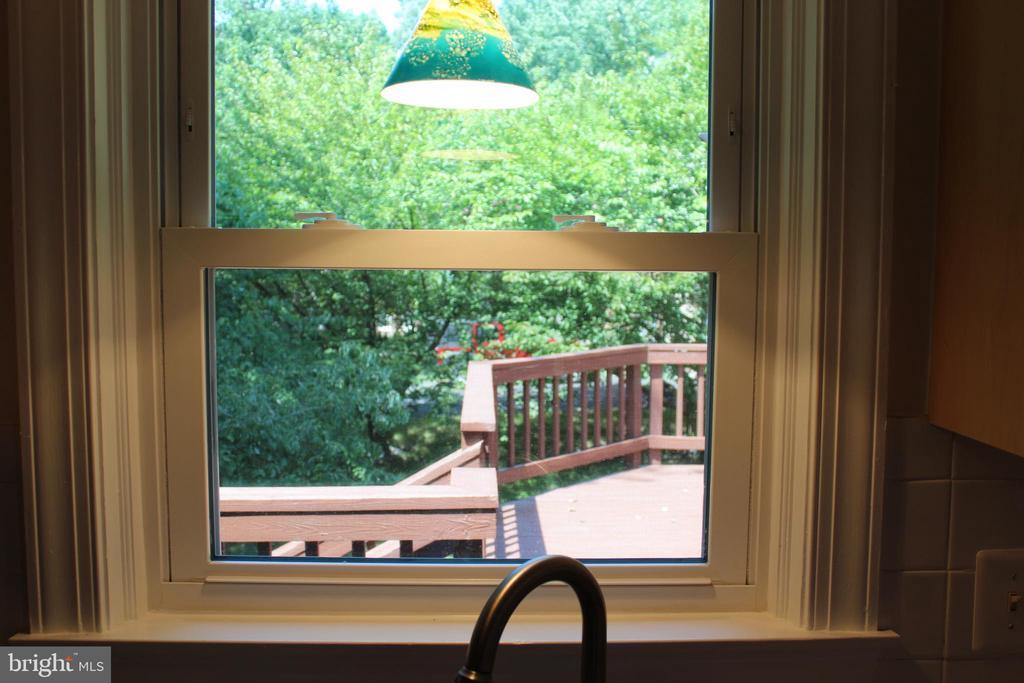Window Above theKitchen Sink - 4800 N HILL DR, FAIRFAX