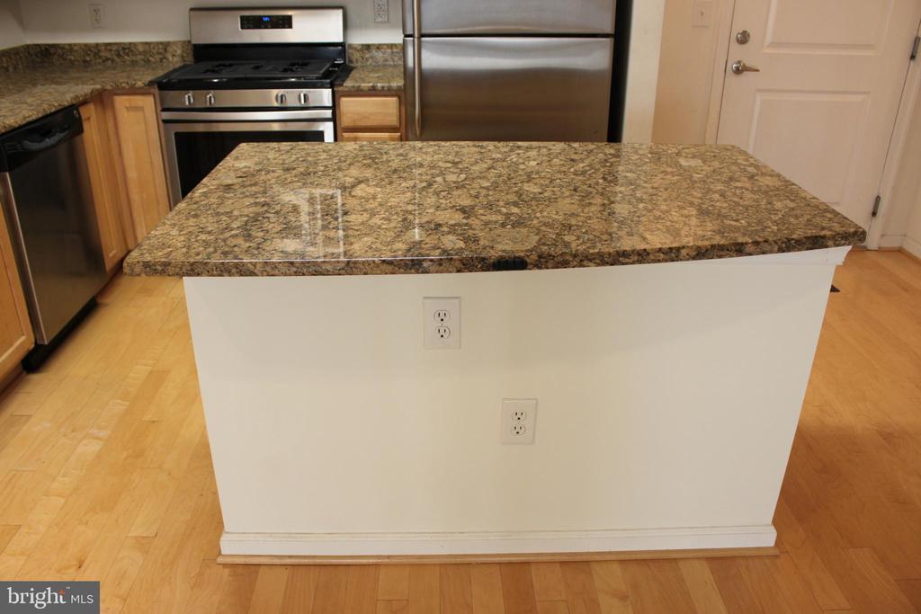 granite countertop island - 7915 EASTERN AVE #509, SILVER SPRING