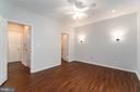 Master Bedroom with recessed lighting - 4404 HELMSFORD LN #202, FAIRFAX