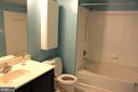 master bathroom - 7915 EASTERN AVE #509, SILVER SPRING