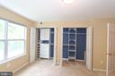 Upgraded Closet drawers and shelves - 13619 ORCHARD DR, CLIFTON
