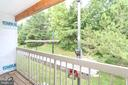 Woods View from Deck - 13619 ORCHARD DR, CLIFTON