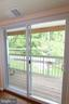 Deck thru New Sliding Glass Doors in 2016 - 13619 ORCHARD DR, CLIFTON