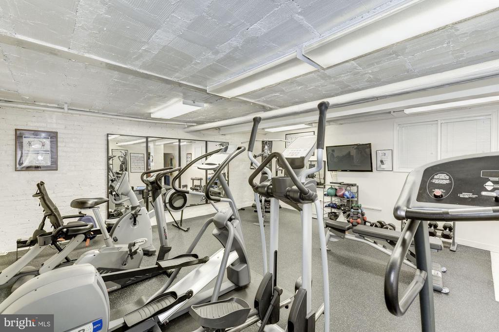 Fitness Room - 2126 CONNECTICUT AVE NW #27, WASHINGTON