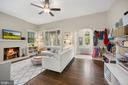 Beautiful original hardwood oak flooring - 520 ONEIDA PL NW, WASHINGTON
