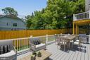 Rear Exterior Deck (alternate angle) - 9000 2ND AVE, SILVER SPRING