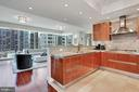 Pristine Kitchen with Breakfast Bar - 1881 N NASH ST #703, ARLINGTON