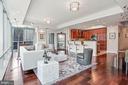 Light Filled Living Room - 1881 N NASH ST #703, ARLINGTON