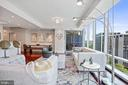 Living Room Great for Entertaining - 1881 N NASH ST #703, ARLINGTON