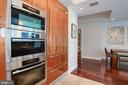 Kitchen with Built-In Steam Oven - 1881 N NASH ST #703, ARLINGTON