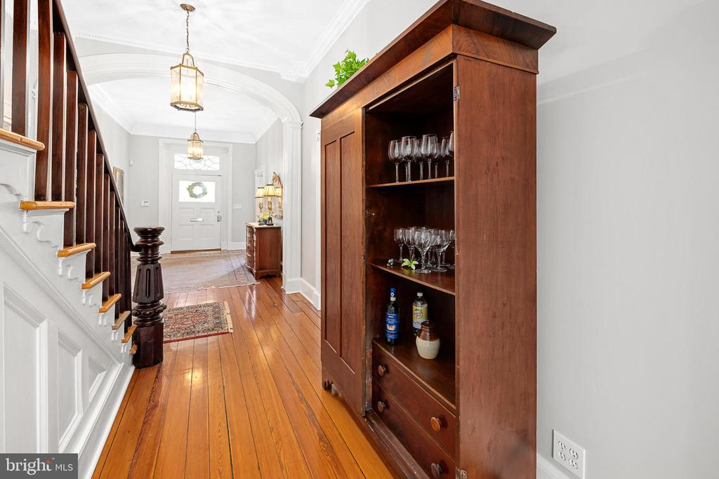 Antique Hurkamp wardrobe conveys with the home. - 406 HANOVER ST, FREDERICKSBURG