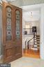 Antique German stained glass door - 406 HANOVER ST, FREDERICKSBURG