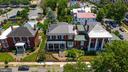 Aerial view of 406 Hanover - 406 HANOVER ST, FREDERICKSBURG