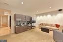 Family Room shown with virtual kitchenette - 1744 WILLARD ST NW, WASHINGTON