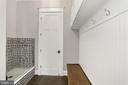 Mud Room/Dog Washing Station - 105 MASHIE CT SE, VIENNA