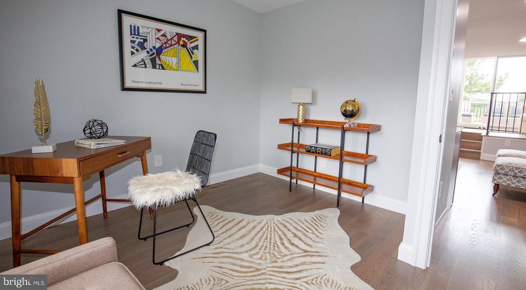 3rd level bedroom #4 - 50 BRYANT ST NW, WASHINGTON