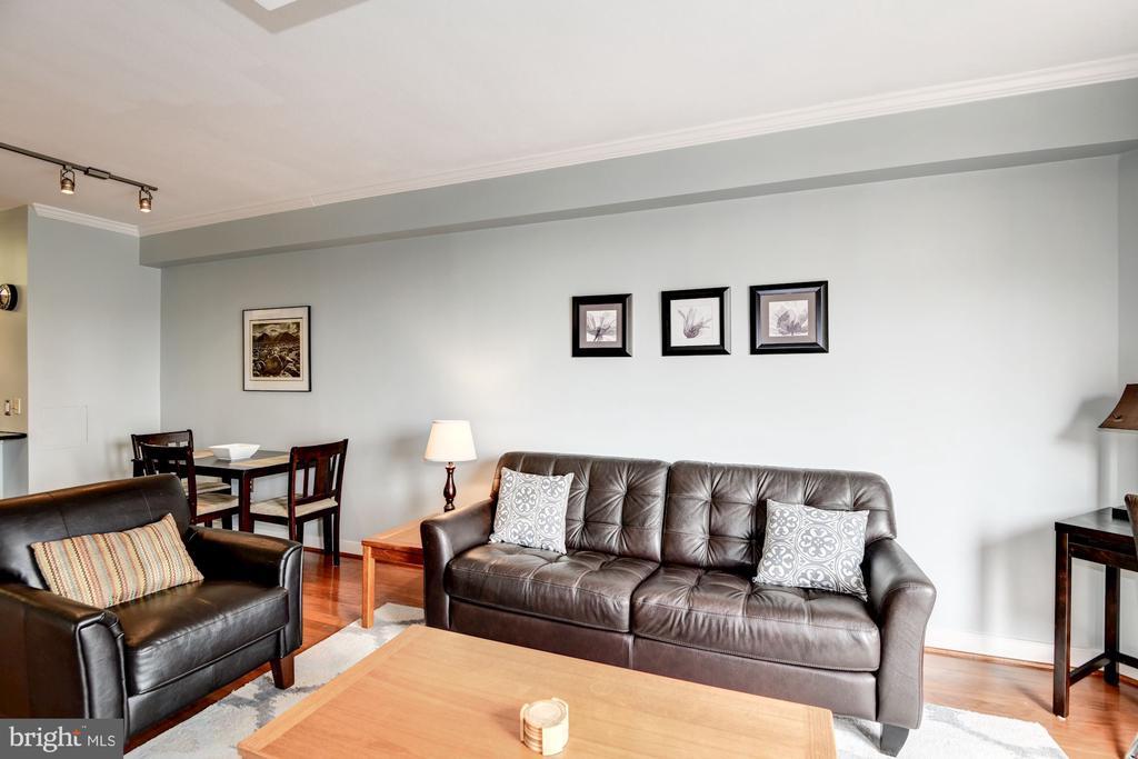 Spacious Living Room - 616 E ST NW #1201, WASHINGTON