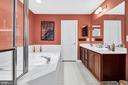Upper Level Owner's Suite Bath - 6541 BOX ELDER LOOP, GAINESVILLE
