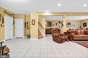 Lower Level Living Area - 6541 BOX ELDER LOOP, GAINESVILLE