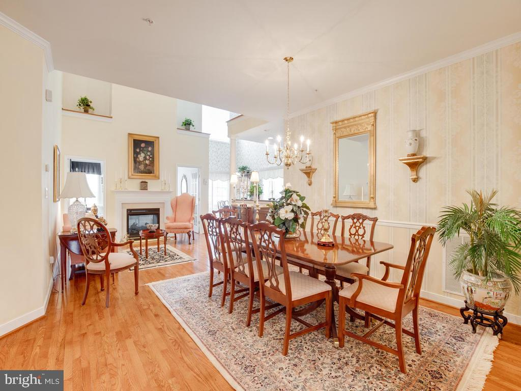 Open Dining /Living Room - 8853 WARM GRANITE DR #35, COLUMBIA