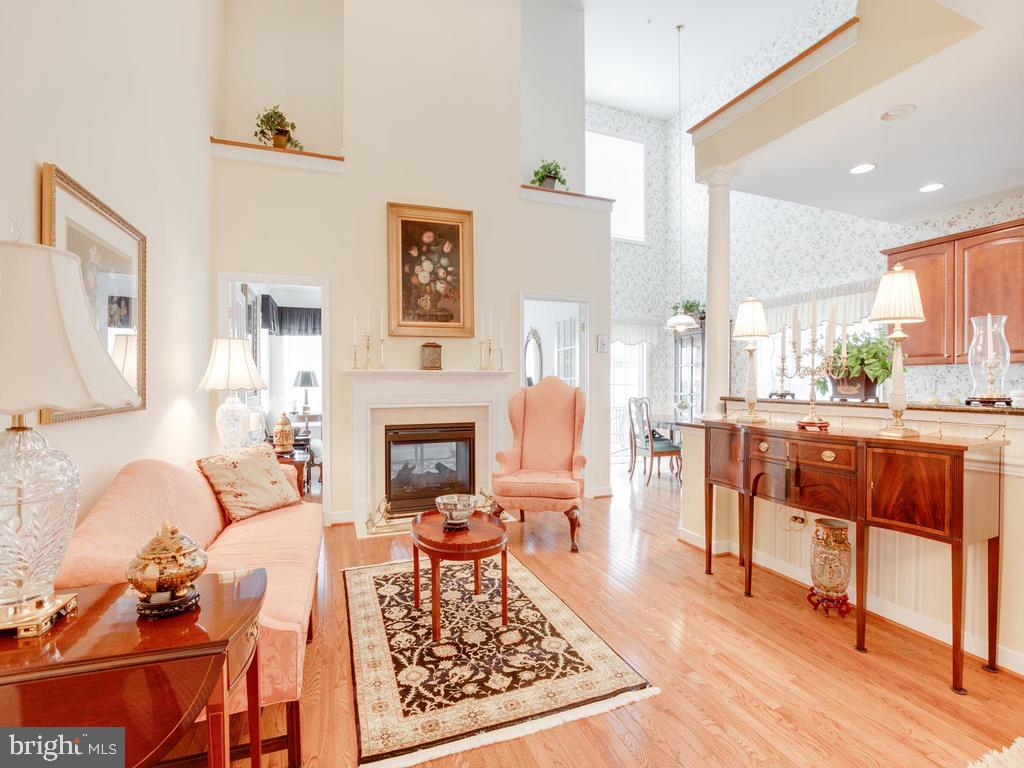 Living Room-Two Story - 8853 WARM GRANITE DR #35, COLUMBIA