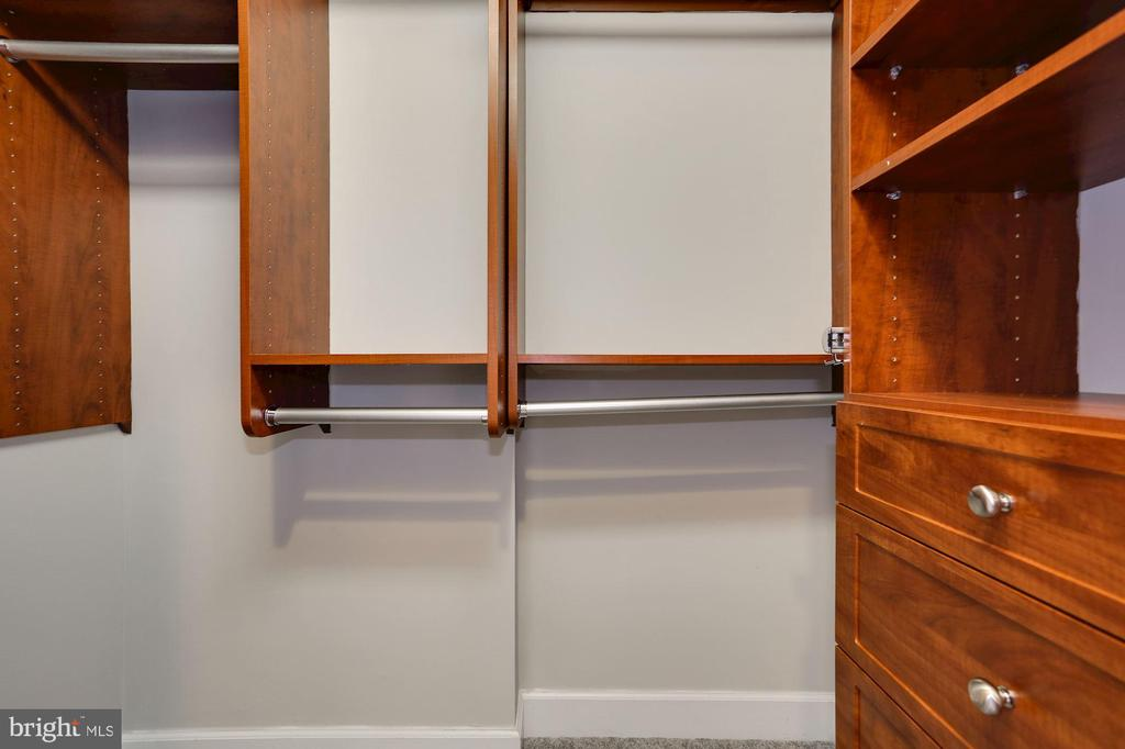 Walk-in closet with built in storage - 3600 S GLEBE RD S #428W, ARLINGTON