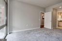 Bedroom - freshly painted and brand new carpet! - 3600 S GLEBE RD S #428W, ARLINGTON