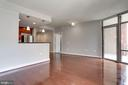 Living area - 3600 S GLEBE RD S #428W, ARLINGTON
