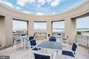 Community room/deck - 3600 S GLEBE RD S #428W, ARLINGTON