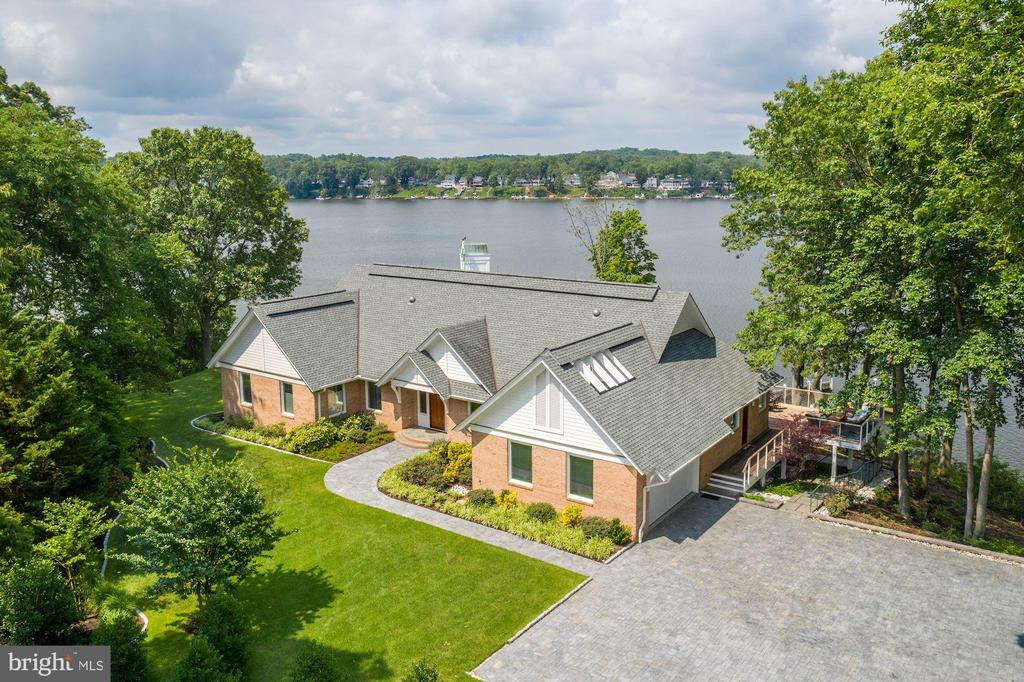 Aerial View - 2920 SOUTHWATER POINT DR, ANNAPOLIS