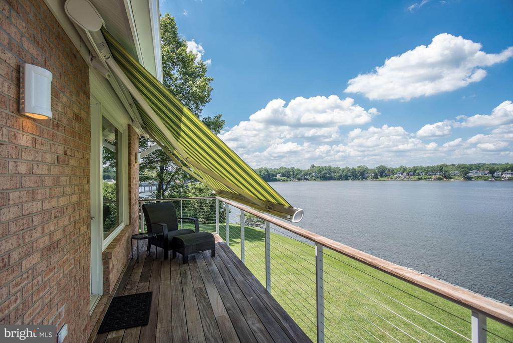 Master Waterside Deck & Awning - 2920 SOUTHWATER POINT DR, ANNAPOLIS