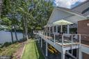 Waterside Deck - 2920 SOUTHWATER POINT DR, ANNAPOLIS