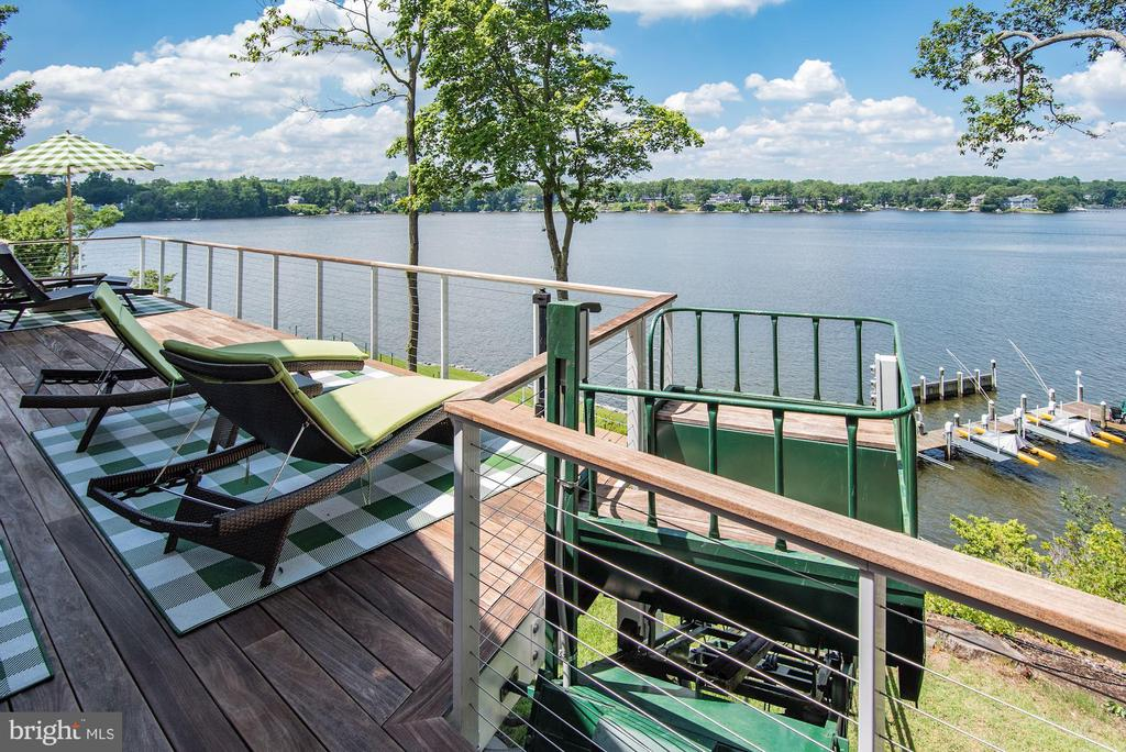Deck and Tram - 2920 SOUTHWATER POINT DR, ANNAPOLIS