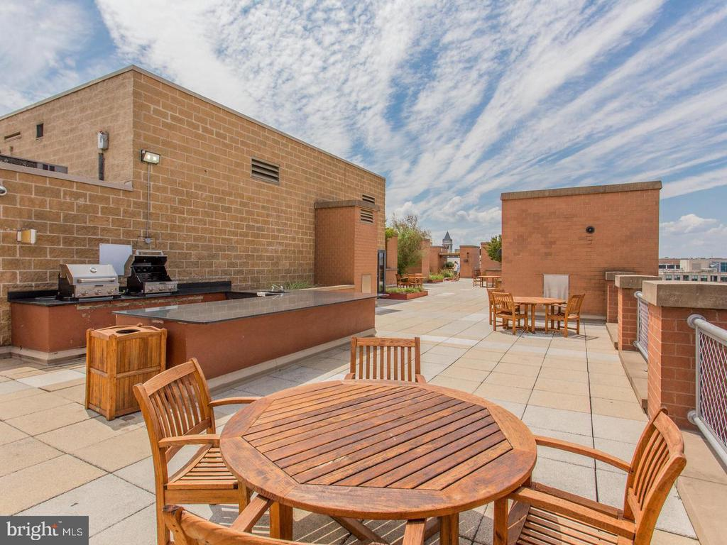Your rooftop grilling & entertainment area awaits! - 616 E ST NW #1201, WASHINGTON