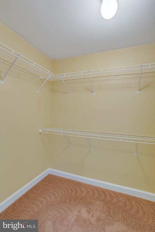 One of two walk-in closets in Owners Suite - 485 HARBOR SIDE ST #911, WOODBRIDGE